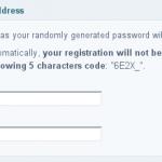 FluxBB Antispam MailTrick Registration form